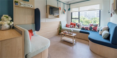 """fabrica曼谷打造共居空间 七位学生""""同居""""生活初体验"""