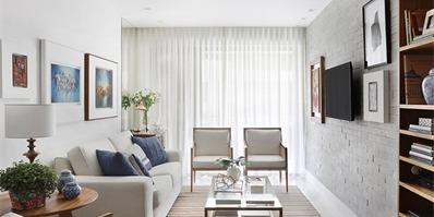 里约热内卢120平米中性现代公寓
