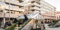 马德里:月上山–城市空间设计,探讨未来城市生活模式