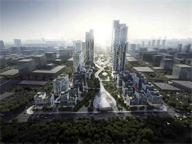 Aedas全新打造中国西部尖端科技及商业枢纽