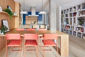 西班牙的亮色北欧公寓