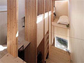 日本T住宅,T型结构带来的自由空间