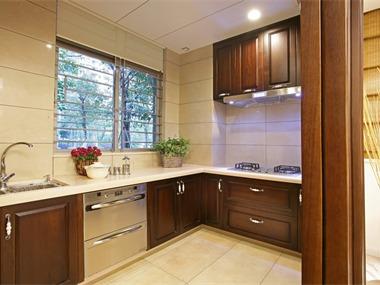中式风格设计案例厨房