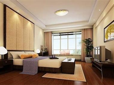 中式风格设计案例卧室
