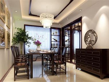 中式风格设计案例餐厅