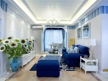 地中海风格设计案例客厅