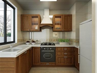 现代厨房效果图