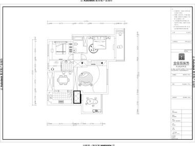 本案是以黑白灰的后现代风格,本户型客厅的楼层比较高